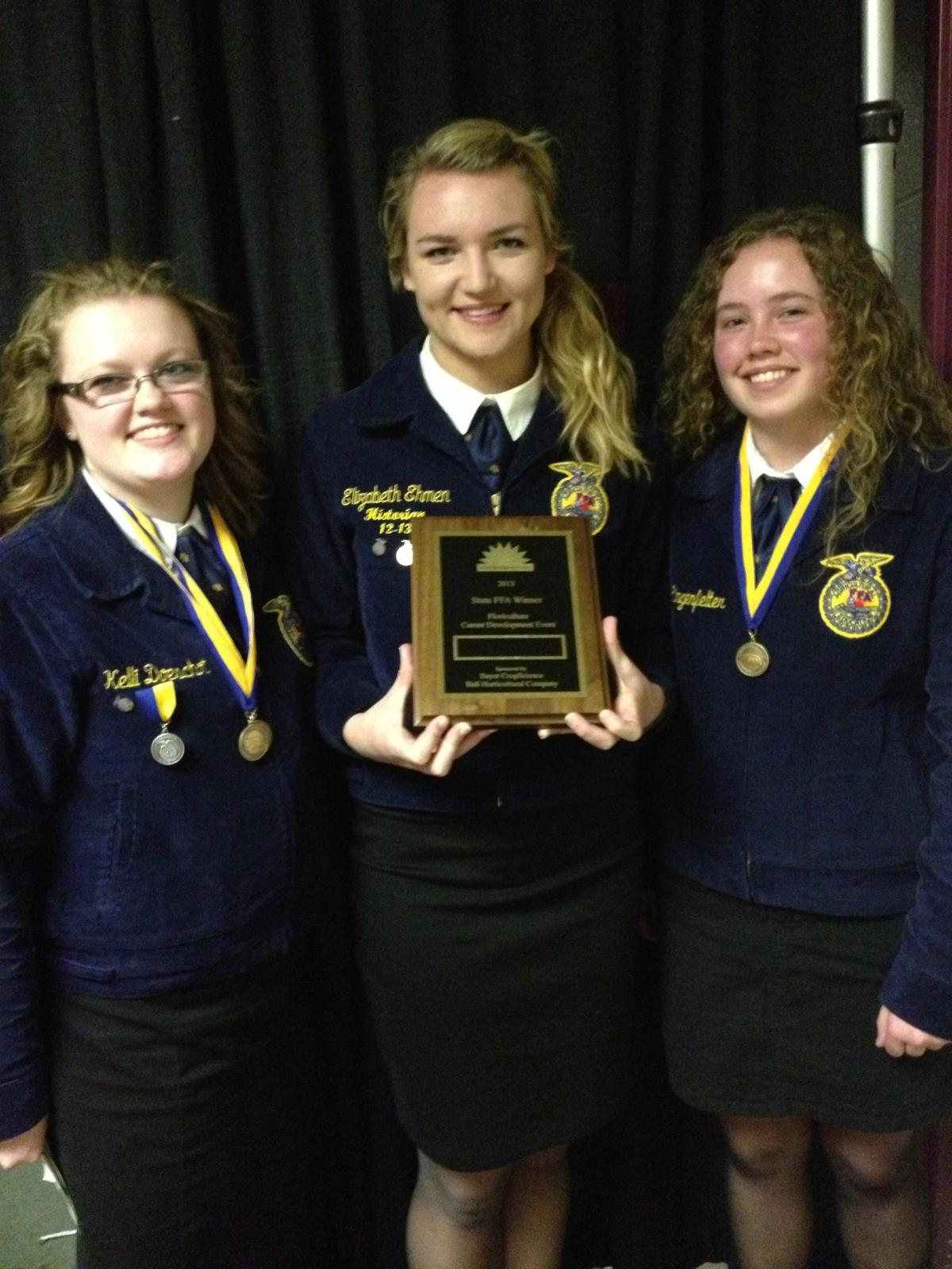 Norris School District: Norris FFA Competes In 2013 State FFA Convention