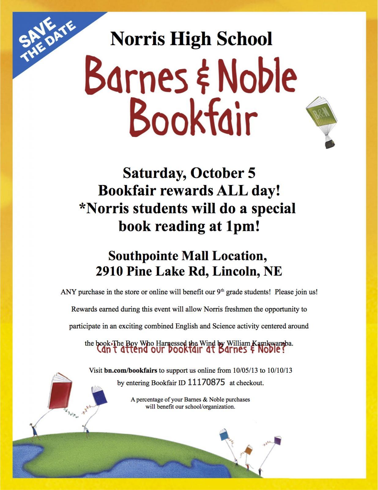 Norris School District: Barnes And Noble Bookfair