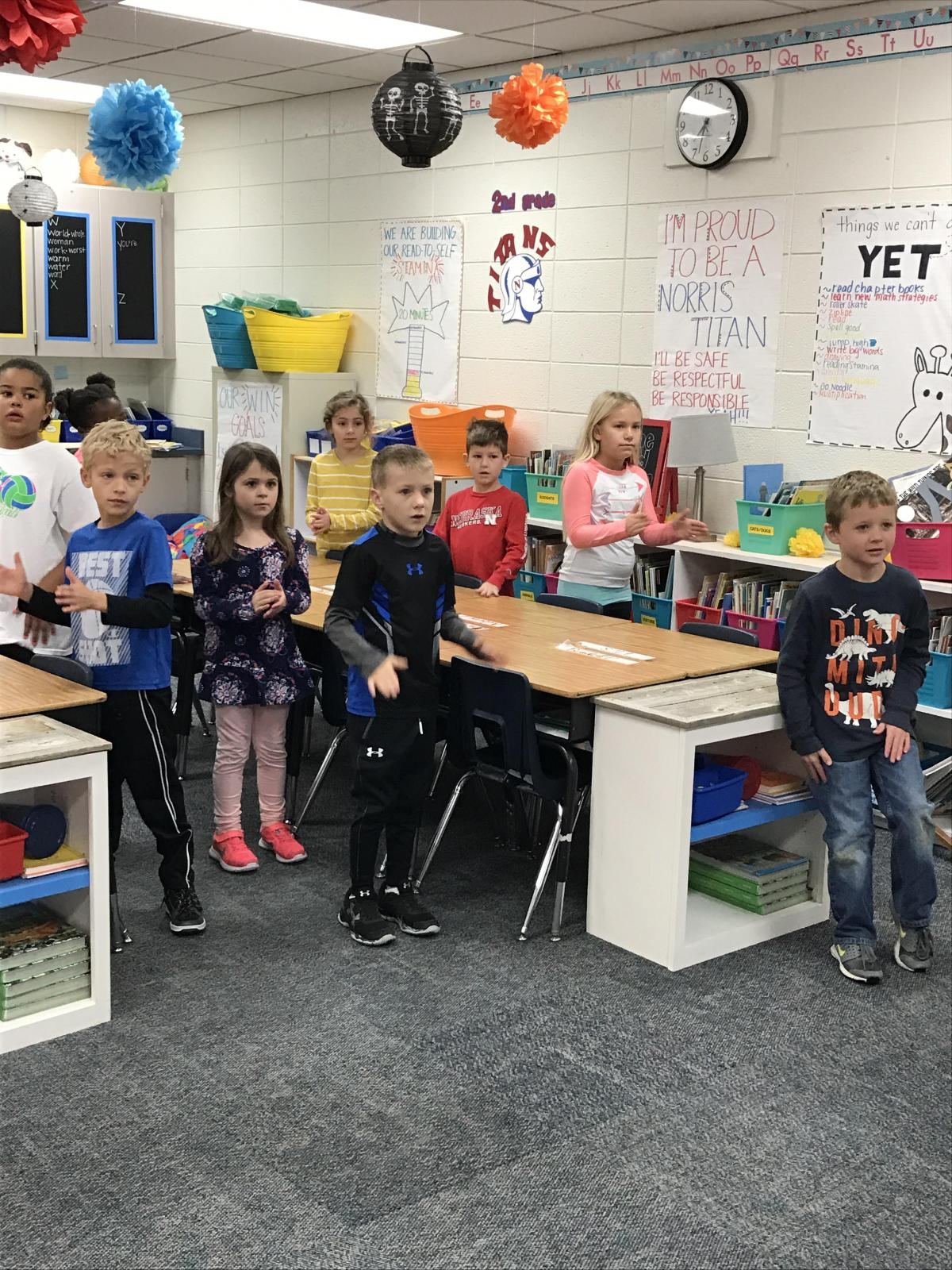 Norris School District: Norris Second Grade Students And Teachers Honored For