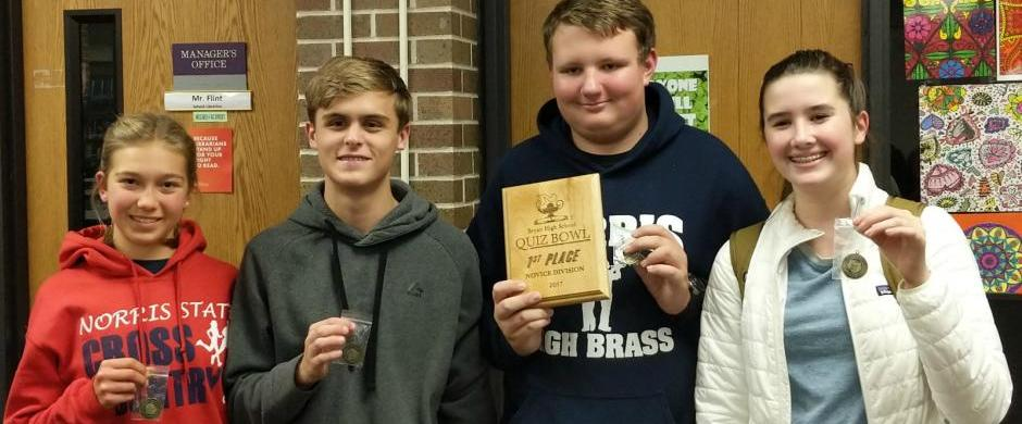 Titan Quiz Bowl Team has Successful Semester