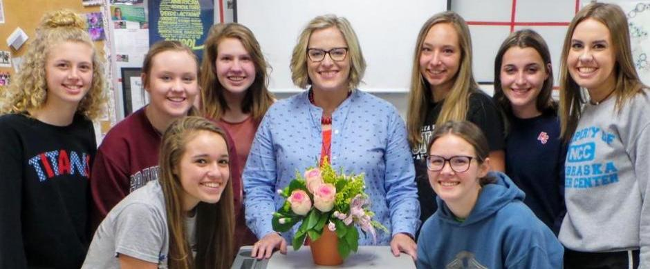 Dr. Jones Named Finalist for Nebraska Outstanding Career Educator