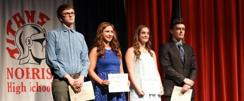 Honors Convocation Recognizes Norris Foundation Scholarship Winners