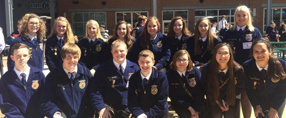 Norris FFA Chapter Earns spot to National FFA Convention!
