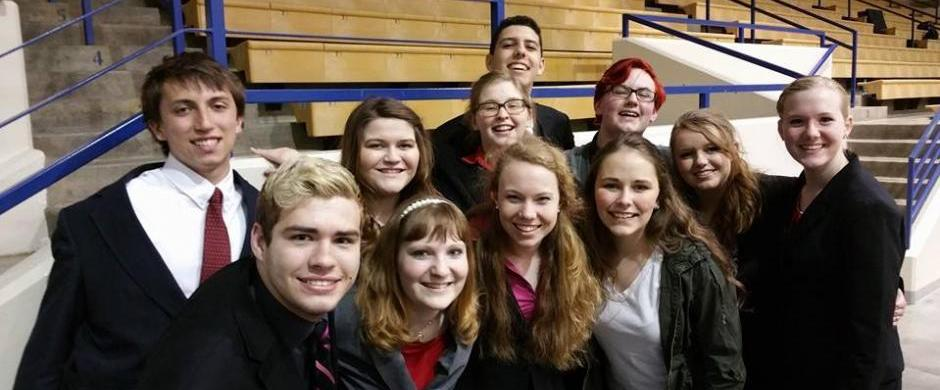 Titan Talkers compete at NSAA State Speech Tournament