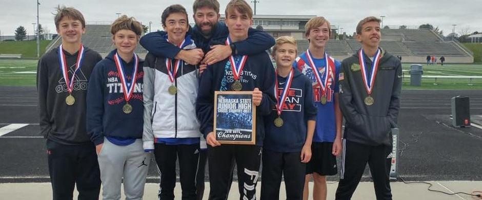 State Champs - Norris MS Boys' Cross-Country