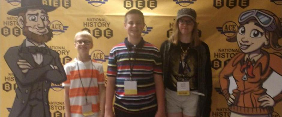 Norris Middle School Students Compete at National History Bee