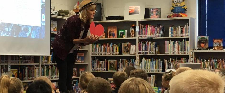 Norris Elementary Hosts Author
