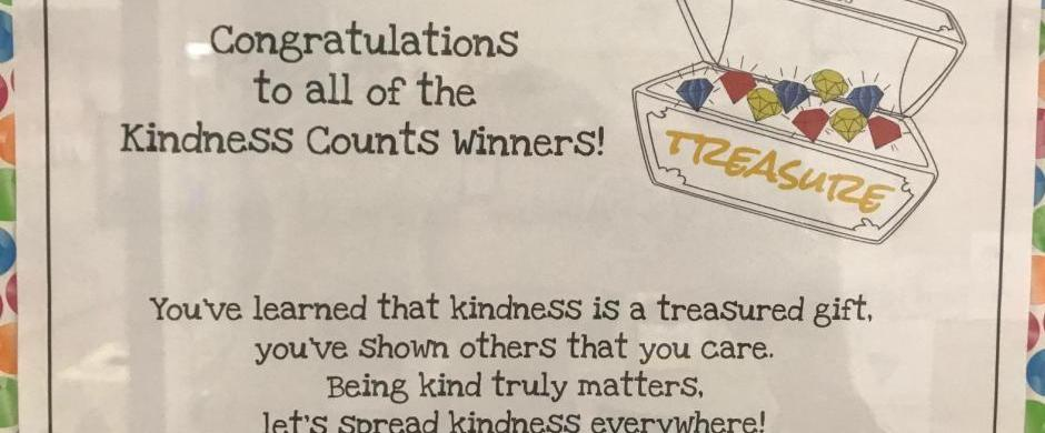 Norris Elementary Participates in the Great Kindness Challenge