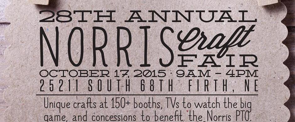 Norris Craft Fair, October 17th