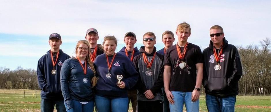 Trap team competes at Crete