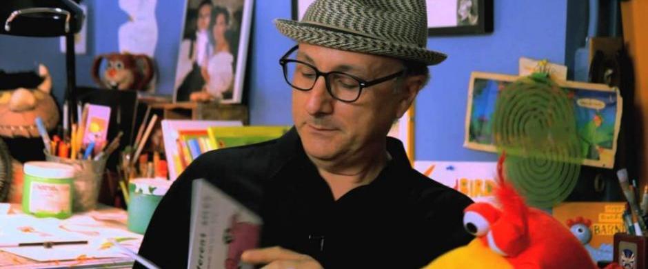 Author and illustrator Barney Saltzberg visiting Norris