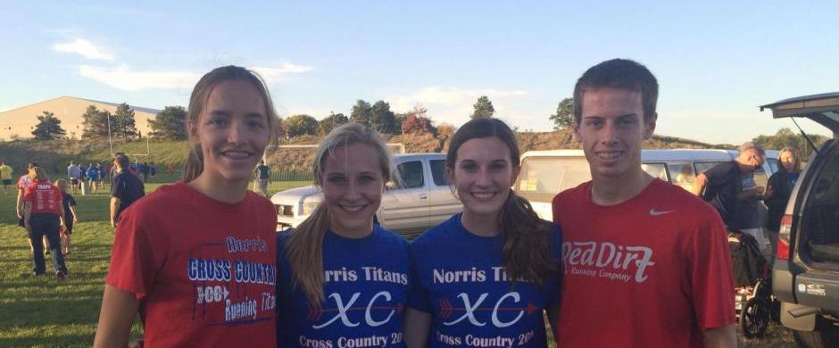 Four qualify for State Cross Country