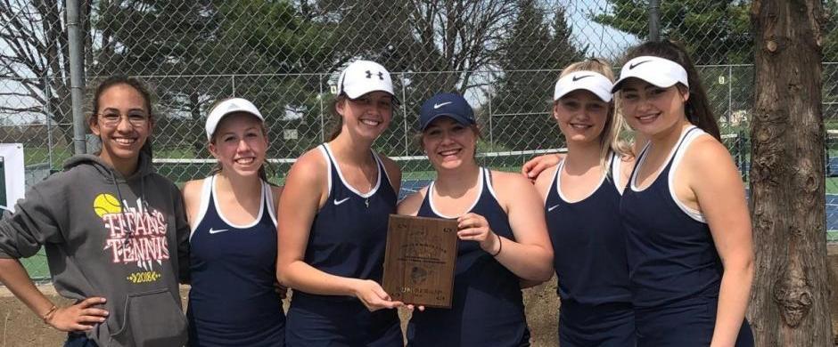 Norris Girls Tennis take 2nd at NorthStar Invite