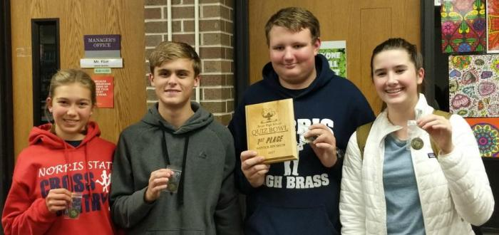 Titan Quiz Bowl Team has Successful Semester