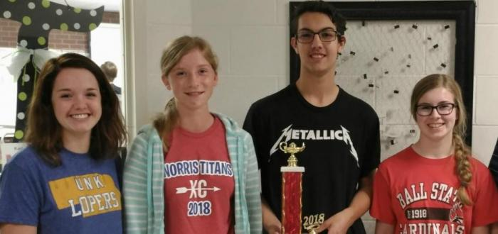 Titan Quiz Bowl team competes well at first two competitions