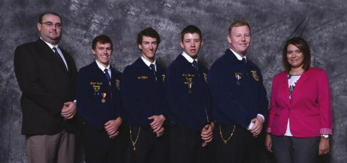Norris FFA Members Compete in National FFA Convention