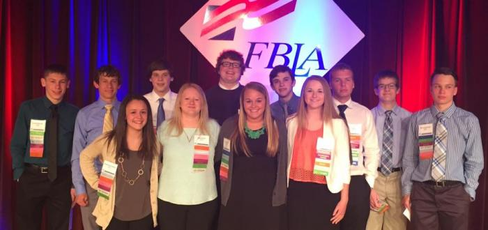 Student attend FBLA State Leadership Conference