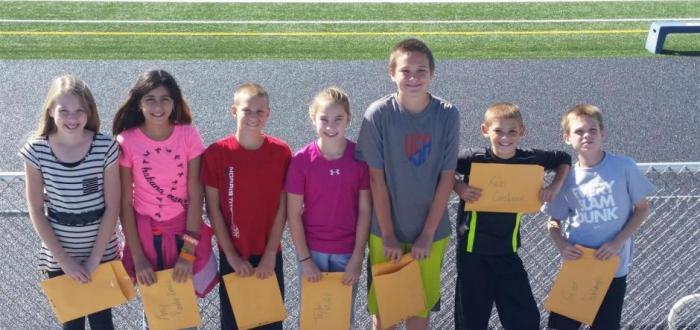 Norris Middle School names Terrific Titans for September