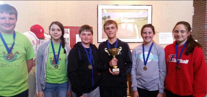 Norris wins ESU 6 middle school quiz bowl tournament