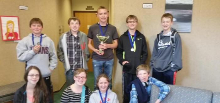 MS Quiz Bowl team competes at ESU 6