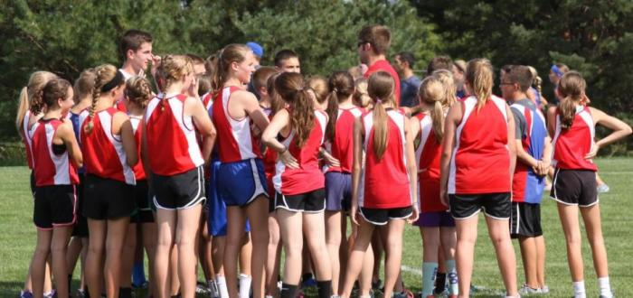 Middle School XC Team Off and Running