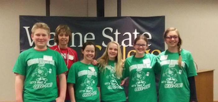 Middle School teams compete at Wayne at the Regional Science Bowl competition