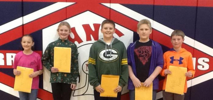 December Terrific Titans recognized in MS