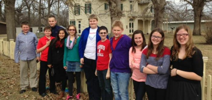 Norris History Bee Students traveled to Des Moines, Iowa on March 19