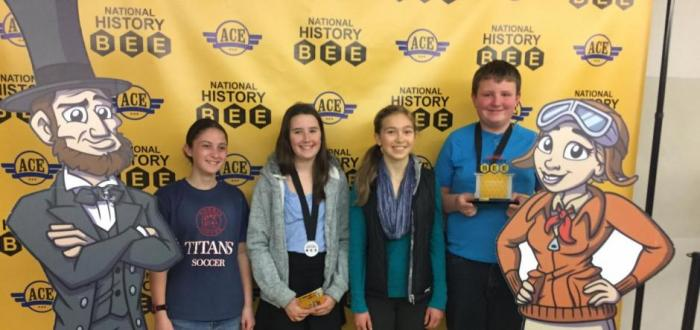 Students qualify for National History Bee