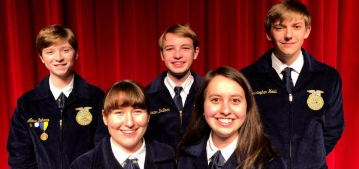 Norris FFA Competes in Leadership Skills Events