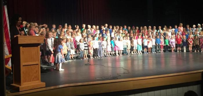 Norris Elementary Kindergarten Graduation