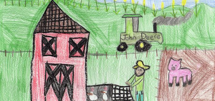 Norris Second Grader Wins State Contest