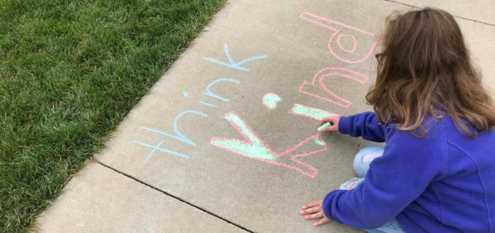 Norris Elementary and Intermediate Participate in the Kindness in Chalk Challenge
