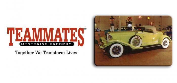 Interested in old cars? Come join the Norris Teammates fundraiser at an extraordinary local car museum