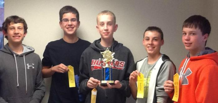 MS math club places 4th at Brownell-Talbot