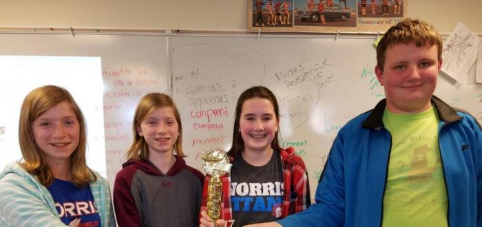 MS Quiz Bowl wins Brownell-Talbot contest