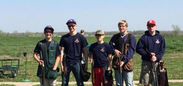 Junior High Trap team takes State Championship