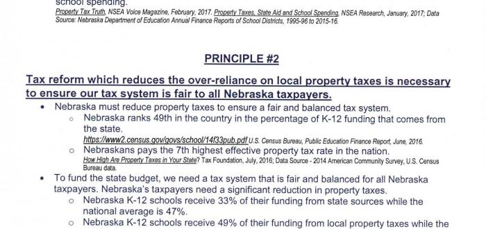 Norris District Joins Coalition For Property Tax Reform and Sustainable Funding For K-12 Education