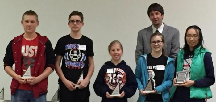Middle School MathCounts Competitors Finish Strong