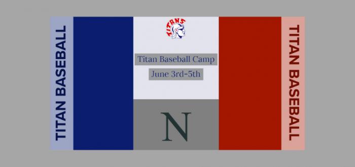 Titan Baseball Announces Youth Camp Dates