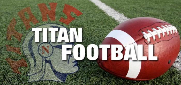 8th Titan Football Team Falls Just Short in Final Game