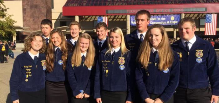 Norris FFA Chapter Attends National FFA Convention