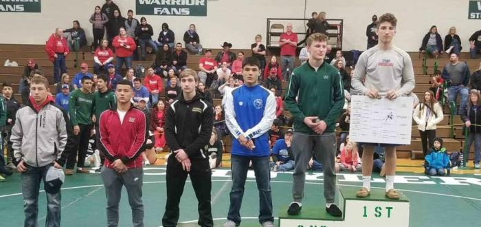 Titans Medal Nine at Schuyler, Harvey Lone Champion!