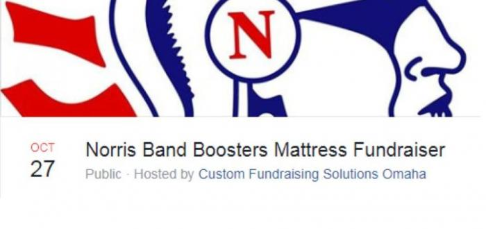 Annual Band Fundraiser Saturday, October 27. Norris HS North Gym