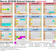 19-20 Norris Calendar
