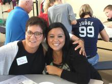 Mentors Becky Pogreba and Mary Ann Franken