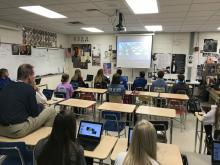 Student's in Tom Allen's  Norris High School Government 1 classes