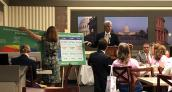 Congressman Fortenberry addresses Nebraska Breakfast attendees.